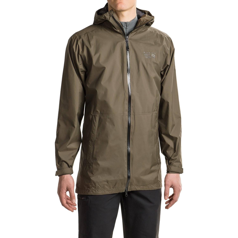 mountain hardwear finder dry q hooded jacket for men