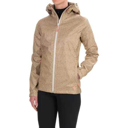 Mountain Hardwear Finder Printed Dry.Q® Core Jacket - Waterproof (For Women) in Khaki - Closeouts