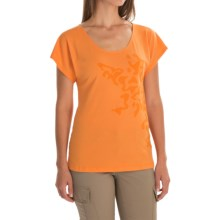Mountain Hardwear Flora Shirt - UPF 25, Short Sleeve (For Women) in Koi - Closeouts