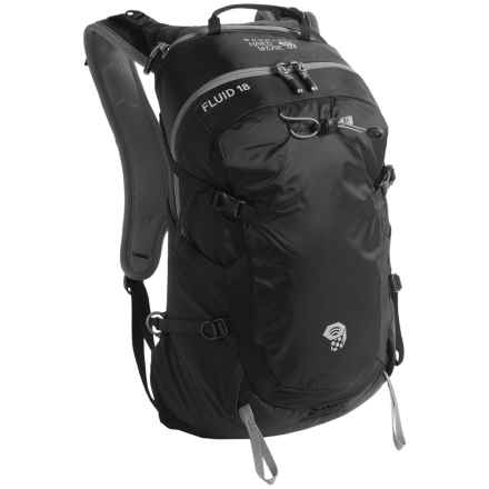Mountain Hardwear Fluid 18 Backpack in Black - Closeouts