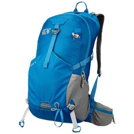 Mountain Hardwear Fluid 18 Backpack in Blue Bay