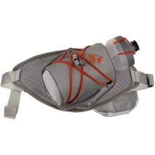 Mountain Hardwear Fluid Single Hydration Waistpack - 22 fl.oz. in Stainless - Closeouts