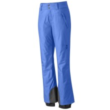 Mountain Hardwear Follow Me Ski Pants - Waterproof, Insulated (For Women) in Bright Bluet - Closeouts