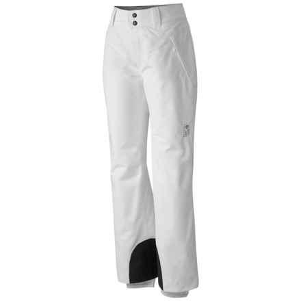 Mountain Hardwear Follow Me Ski Pants - Waterproof, Insulated (For Women) in White - Closeouts