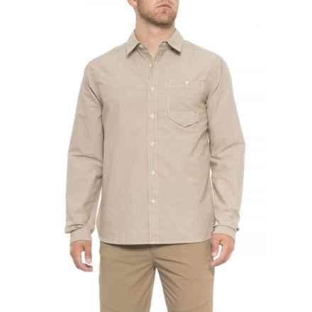 Mountain Hardwear Foreman Shirt - Long Sleeve (For Men) in Sandstorm - Closeouts