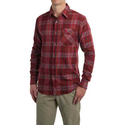 Mountain Hardwear Franklin Shirt - Long Sleeve (For Men) in Dark Fire - Closeouts