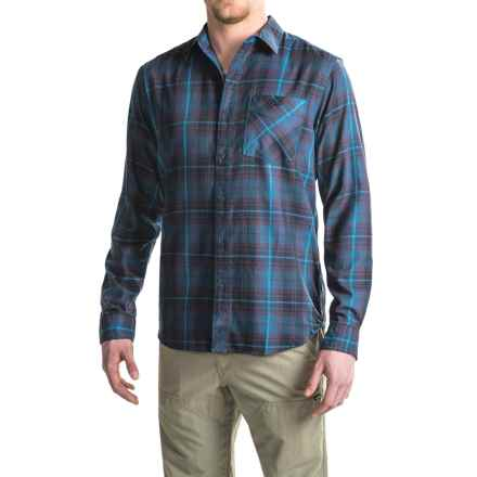 Mountain Hardwear Franklin Shirt - Long Sleeve (For Men) in Eggplant - Closeouts