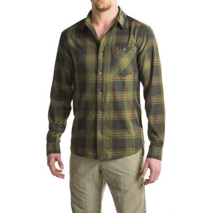 Mountain Hardwear Franklin Shirt - Long Sleeve (For Men) in Forest - Closeouts
