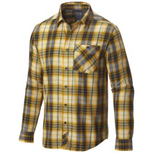 Mountain Hardwear Franklin Shirt - Long Sleeve (For Men) in Inca Gold - Closeouts
