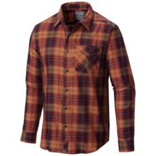 Mountain Hardwear Franklin Shirt - Long Sleeve (For Men) in Smolder Red - Closeouts