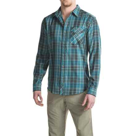 Mountain Hardwear Franklin Shirt - Long Sleeve (For Men) in Thunderhead Grey - Closeouts