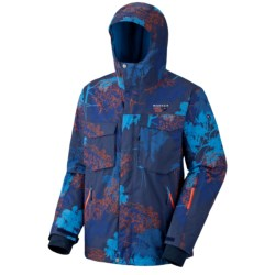 Mountain Hardwear Frenetic Dry.Q Core Shell Jacket - Waterproof (For Men) in Blue Horizon