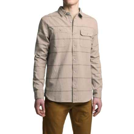 Mountain Hardwear Frequenter Stripe Shirt - Long Sleeve (For Men) in Fossil - Closeouts