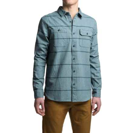Mountain Hardwear Frequenter Stripe Shirt - Long Sleeve (For Men) in Hardwear Navy - Closeouts