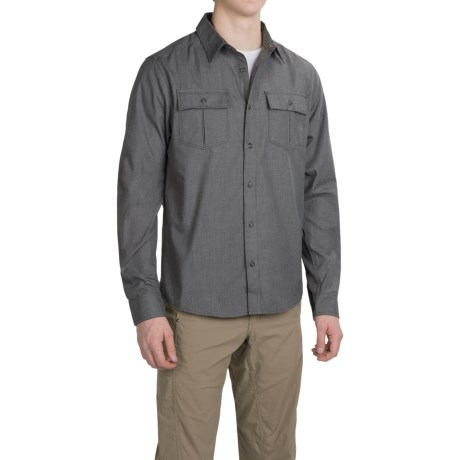 Mountain Hardwear Frequentor Flannel Shirt UPF 50, Long Sleeve (For Men)