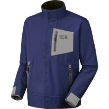 Mountain Hardwear G50 AirShield Elite Jacket - Soft Shell (For Men) in Sapphire - Closeouts