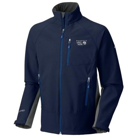 Mountain Hardwear G50 Soft Shell Jacket (For Men) in Collegiate Navy/Shark