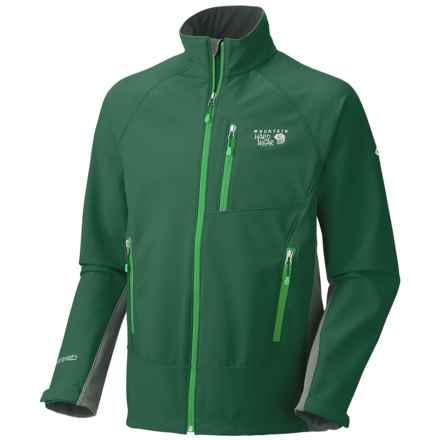 Mountain Hardwear G50 Soft Shell Jacket (For Men) in Pine Tree/Shark - Closeouts