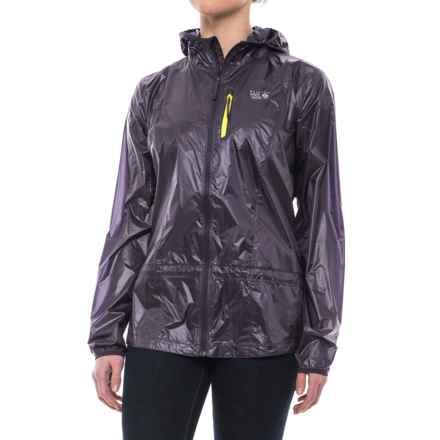 Mountain Hardwear Ghost Lite Jacket (For Women) in Blurple - Closeouts