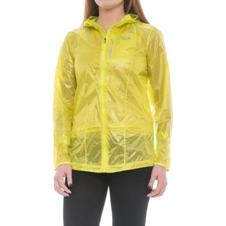 Mountain Hardwear Ghost Lite Jacket (For Women) in Sticky Note