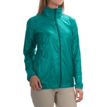 Mountain Hardwear Ghost Lite Pro Jacket (For Women) in Glacier Green - Closeouts