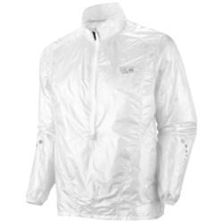 Mountain Hardwear Ghost Whisperer Anorak Jacket - Super Ultra Lightweight (For Men) in White