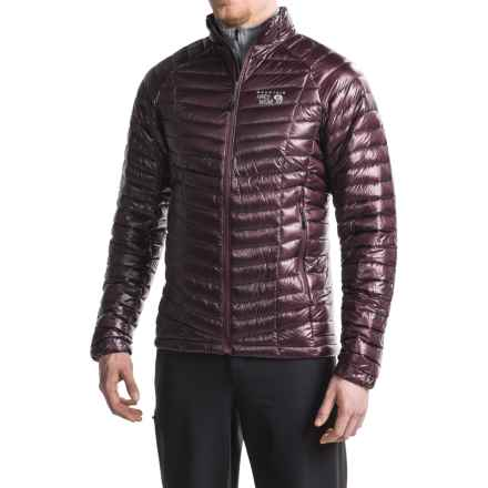 Mountain Hardwear Ghost Whisperer Down Jacket - 800 Fill Power (For Men) in Eggplant - Closeouts