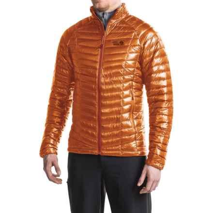 Mountain Hardwear Ghost Whisperer Down Jacket - 800 Fill Power (For Men) in Orange Copper - Closeouts