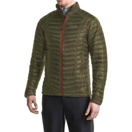 Mountain Hardwear Ghost Whisperer Down Jacket - 800 Fill Power (For Men) in Peatmoss - Closeouts