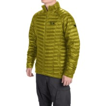 Mountain Hardwear Ghost Whisperer Down Jacket - 800 Fill Power (For Men) in Python Green - Closeouts