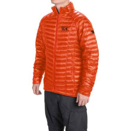 Mountain Hardwear Ghost Whisperer Down Jacket - 800 Fill Power (For Men) in State Orange - Closeouts