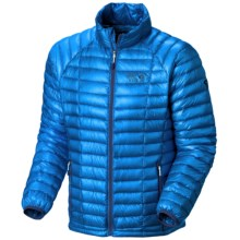 Mountain Hardwear Ghost Whisperer Down Jacket - 850 Fill Power (For Men) in Hyper Blue - Closeouts