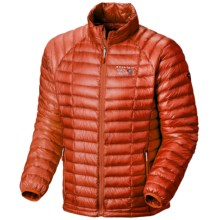 Mountain Hardwear Ghost Whisperer Down Jacket - 850 Fill Power (For Men) in State Orange - Closeouts