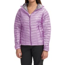 Mountain Hardwear Ghost Whisperer Q.Shield® Down Hooded Jacket - 800 Fill Power (For Women) in Phantom Purple - Closeouts