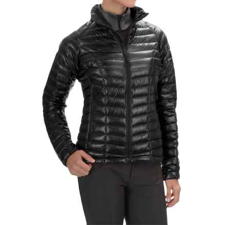 Mountain Hardwear Ghost Whisperer Q.Shield® Down Jacket - 800 Fill Power (For Women) in Black - Closeouts