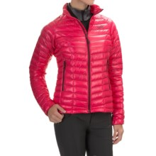 Mountain Hardwear Ghost Whisperer Q.Shield® Down Jacket - 800 Fill Power (For Women) in Bright Rose - Closeouts