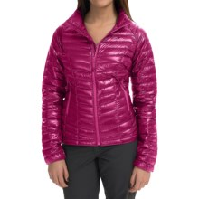 Mountain Hardwear Ghost Whisperer Q.Shield® Down Jacket - 800 Fill Power (For Women) in Deep Blush - Closeouts
