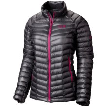 Mountain Hardwear Ghost Whisperer Q.Shield® Down Jacket - 800 Fill Power (For Women) in Graphite/Bright Rose - Closeouts