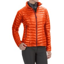 Mountain Hardwear Ghost Whisperer Q.Shield® Down Jacket - 800 Fill Power (For Women) in Navel Orange - Closeouts