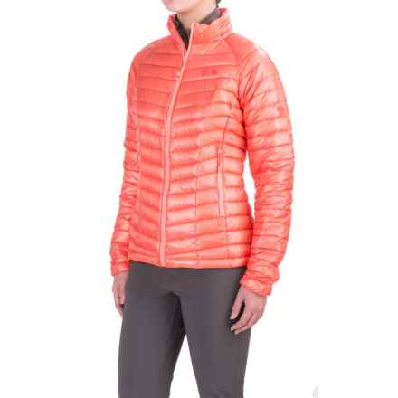Mountain Hardwear Ghost Whisperer Q.Shield® Down Jacket - 800 Fill Power (For Women) in Paradise Pink - Closeouts
