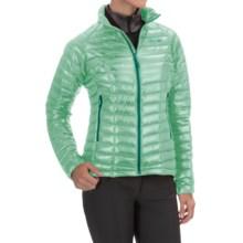 Mountain Hardwear Ghost Whisperer Q.Shield® Down Jacket - 800 Fill Power (For Women) in Sea Ice - Closeouts