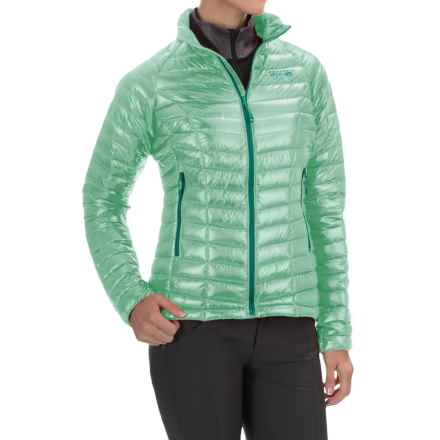 Mountain Hardwear Ghost Whisperer Q.Shield® Down Jacket - 800 Fill Power (For Women) in Sea Ice - Closeouts