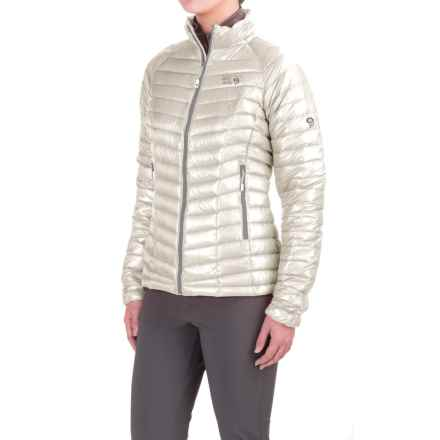 Mountain Hardwear Ghost Whisperer Q.Shield® Down Jacket - 800 Fill Power (For Women) in White - Closeouts