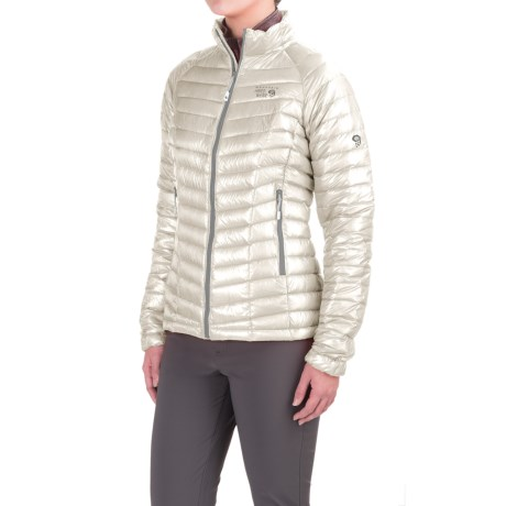 Mountain Hardwear Ghost Whisperer Q.Shield® Down Jacket - 800 Fill Power (For Women) in White