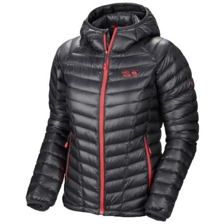 Mountain Hardwear Ghost Whisperer Q.Shield® Down Jacket - 850 Fill Power (For Women) in Graphite