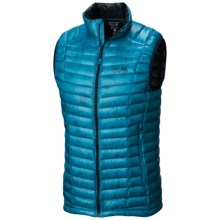 Mountain Hardwear Ghost Whisperer Q.Shield® Down Vest - 800 Fill Power (For Men) in Dark Compass - Closeouts