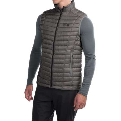 Mountain Hardwear Ghost Whisperer Q.Shield® Down Vest - 800 Fill Power (For Men)