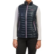 Mountain Hardwear Ghost Whisperer Q.Shield® Down Vest - 800 Fill Power (For Women) in Zinc/Phantom Purple - Closeouts