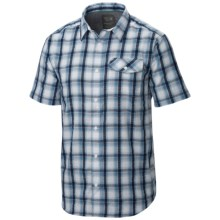 Mountain Hardwear Gilmore Shirt - Button Front, Short Sleeve (For Men) in White - Closeouts