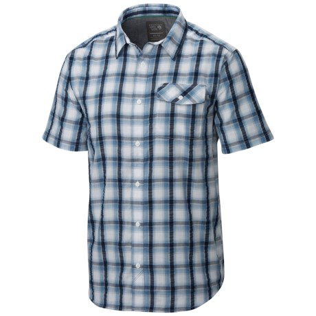 Mountain Hardwear Gilmore Shirt Button Front Short Sleeve For Men